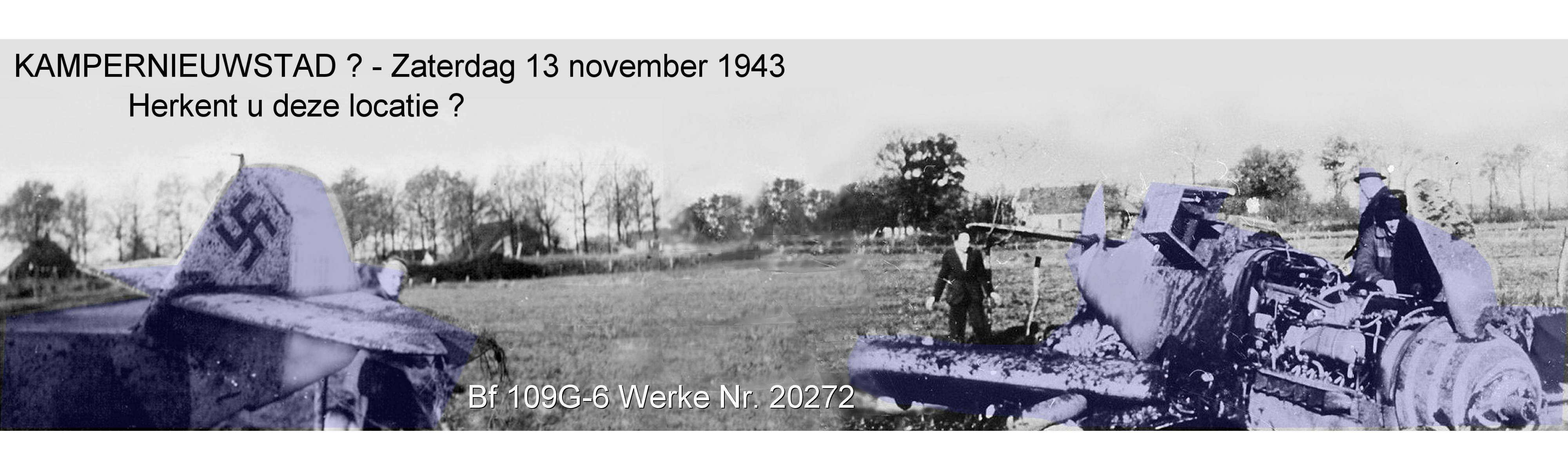 13 Nov 1943 - Kamper/Neustadt (Kampernieuwstad, NL) - panorama background