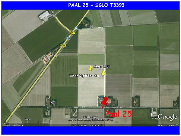 Kavel J-107 - Paal 25 - SGLO T3393