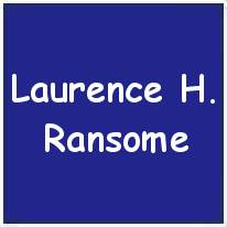1079156 - Sergeant - W.Operator / Air Gunner - Laurence Henry Ransome - RAFVR - Age 23 - KIA