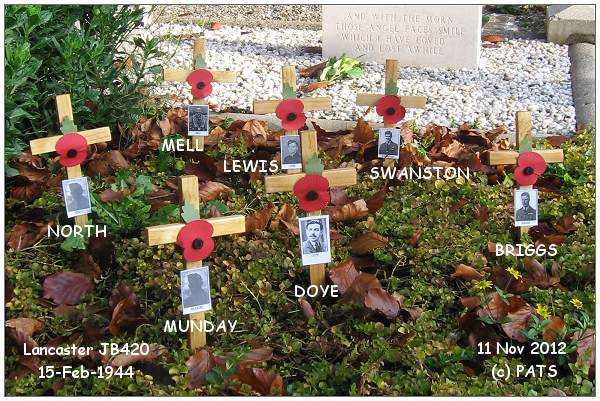Poppy Day - 11 Nov 2012 - Crew JB420