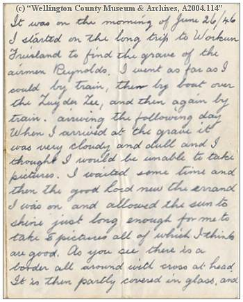 Letter - 26 Jun 1946 - by Phil. van Tol - page 01