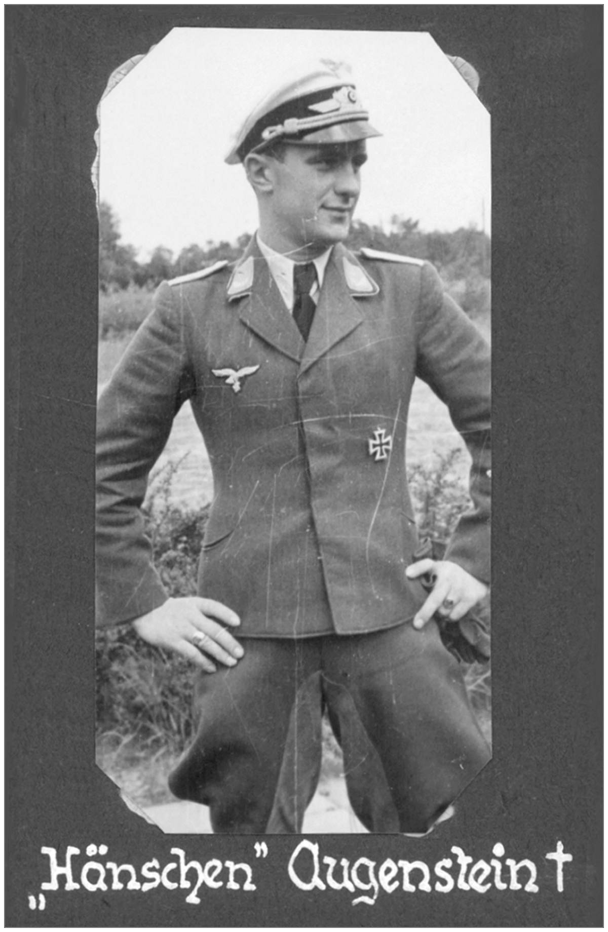 Lt. Hänschen Augenstein - from Rolf Ebhardt (former Nightfighter pilot)