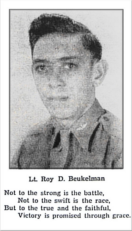 Lt. Roy D. Beukelman, Harrison, South Dakota