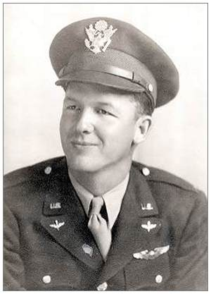 Lt. Wallace E. Emmert - wings - Texas, 1943