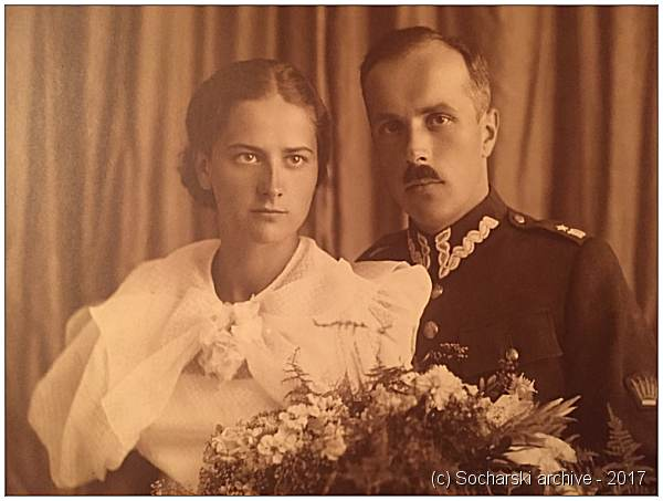 Por. Maciej Wojciech Socharski and Mrs. Halina Socharski née Wagner