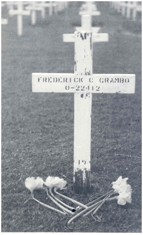 Frederick Charles Grambo - Cemetery-Margraten - BBB-1-19
