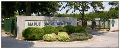 Maple Grove Cemetery, Findlay, OH