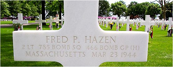 Headstone - Hazen - Margraten, NL