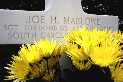 Headstone - Sgt. Joe H. Marlowe - Margraten, NL