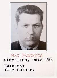 T/Sgt. Max Palenica - photo taken by Underground