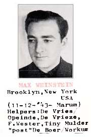 2nd Lt. Max (nmi) Weinstein - photo taken by Underground