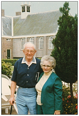 Maxine and Bob Harrah - visiting Isle of Schokland - May 1995