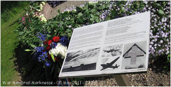 War Memorial -  Marknesse - 05 May 2011