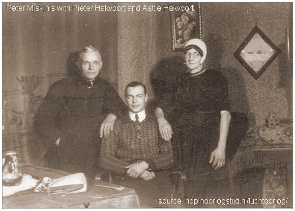 Peter Miskinis with Pieter & Aaltje Hakvoort