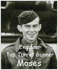Moses as on crew photo - Dec 1943