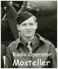 Mosteller as on crew photo - Dec 1943