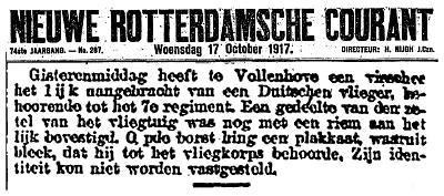 Nieuwe Rotterdamse Courant - 17 Oct 1917