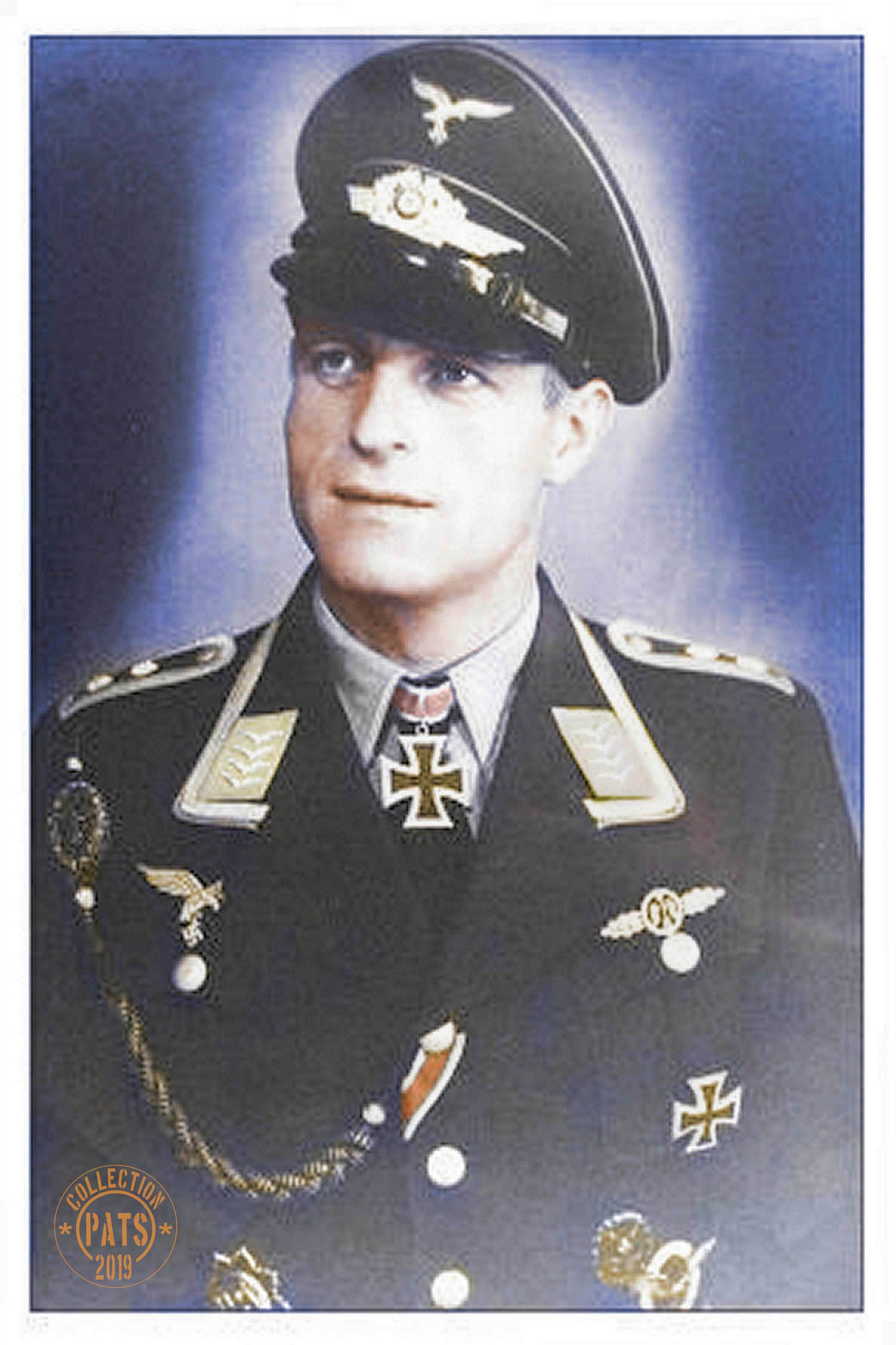 Oberleutnant Heinz Kurt Albert Klöpper - photo November 1942