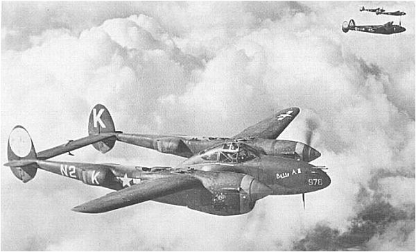 P-38 Lightning - from George F. Ceuleers collection