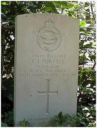 Headstone - Sgt. Cecil Joseph Purcell