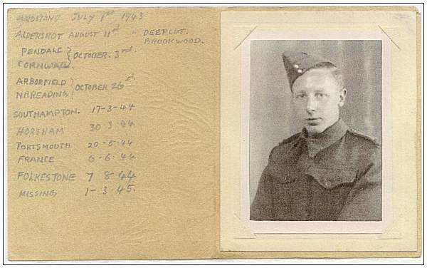 14430913 - Private - Oswald Arthur Jeffries