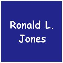 971236 - Sgt. Ronald Lloyd Jones - RAF(VR)