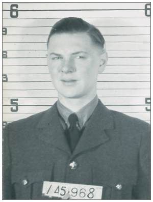 R/145968 - Warrant Officer Class II - Bomb Aimer - Robert Edward Roos - RCAF
