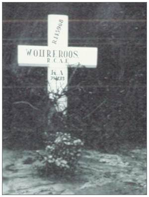 Grave memorial - Ruinerwold - R/145968 - Warrant Officer Class II - Robert Edward Roos - RCAF