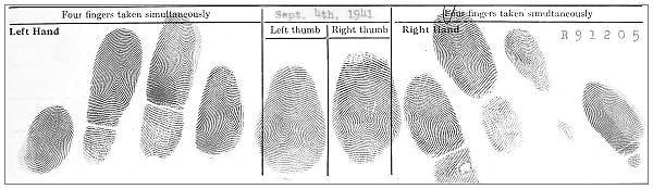 R91205 - Fingerprint - 04 Sep 1941