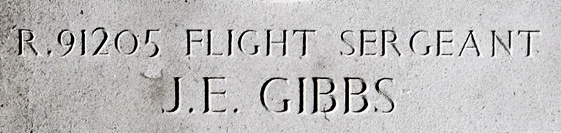 Headstone - Flight Sergeant Jack Edward Gibbs - 2006 - Vollenhove