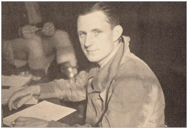F/Sgt. Andrew Basil Reginald Airy in the UK