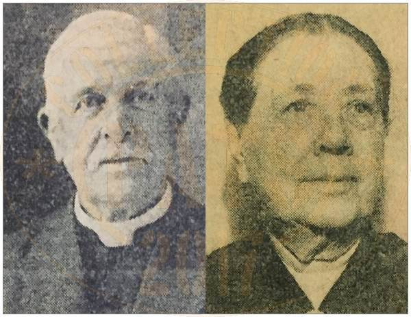 Rev. W. P. Byers and Mrs. William P. Byers