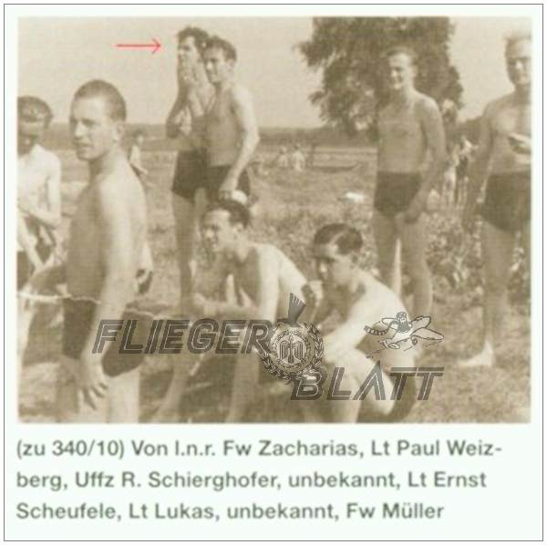 Uffz. Rudolf Schierghofer - early Aug 1944, Sachau