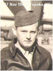 S/Sgt. Joseph Francis McDermott - at Topeka, Kansas - 27 Nov 1943