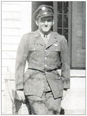 Sgt. Milton Ewell Thompson in uniform