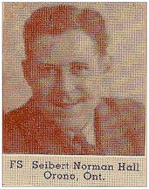R/65638 - Sergeant - Sebert Norman Hall - RCAF