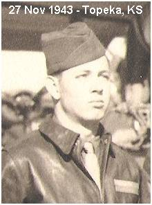 S/Sgt. Trenton T. Tucker Jr. - at Topeka, Kansas - 27 Nov 1943