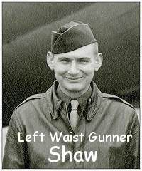 Shaw as on crew photo - Dec 1943