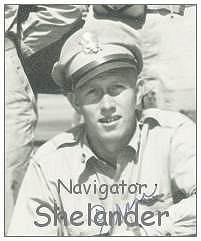 Shelander as on crew photo - May 1943