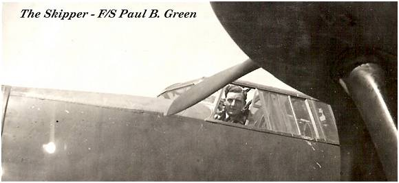 Skipper F/Sgt. Paul B Green