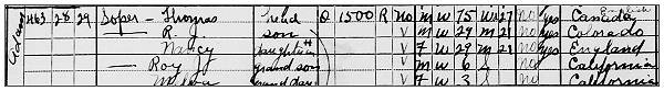 Soper - 02 Apr 1930 - Census, Napa, CA