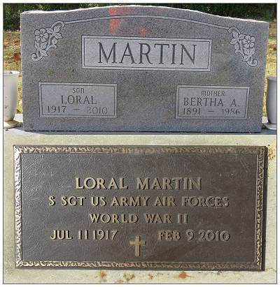 S/Sgt. Loral Martin - gravemarkers