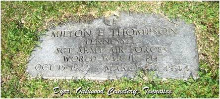 'Oakwood Cemetery' Dyer, Tennessee -