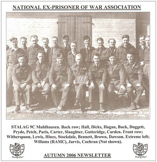 Photo 181 - Stalag 9C Muhlhausen - cover AUTUMN 2006 NEWSLETTER