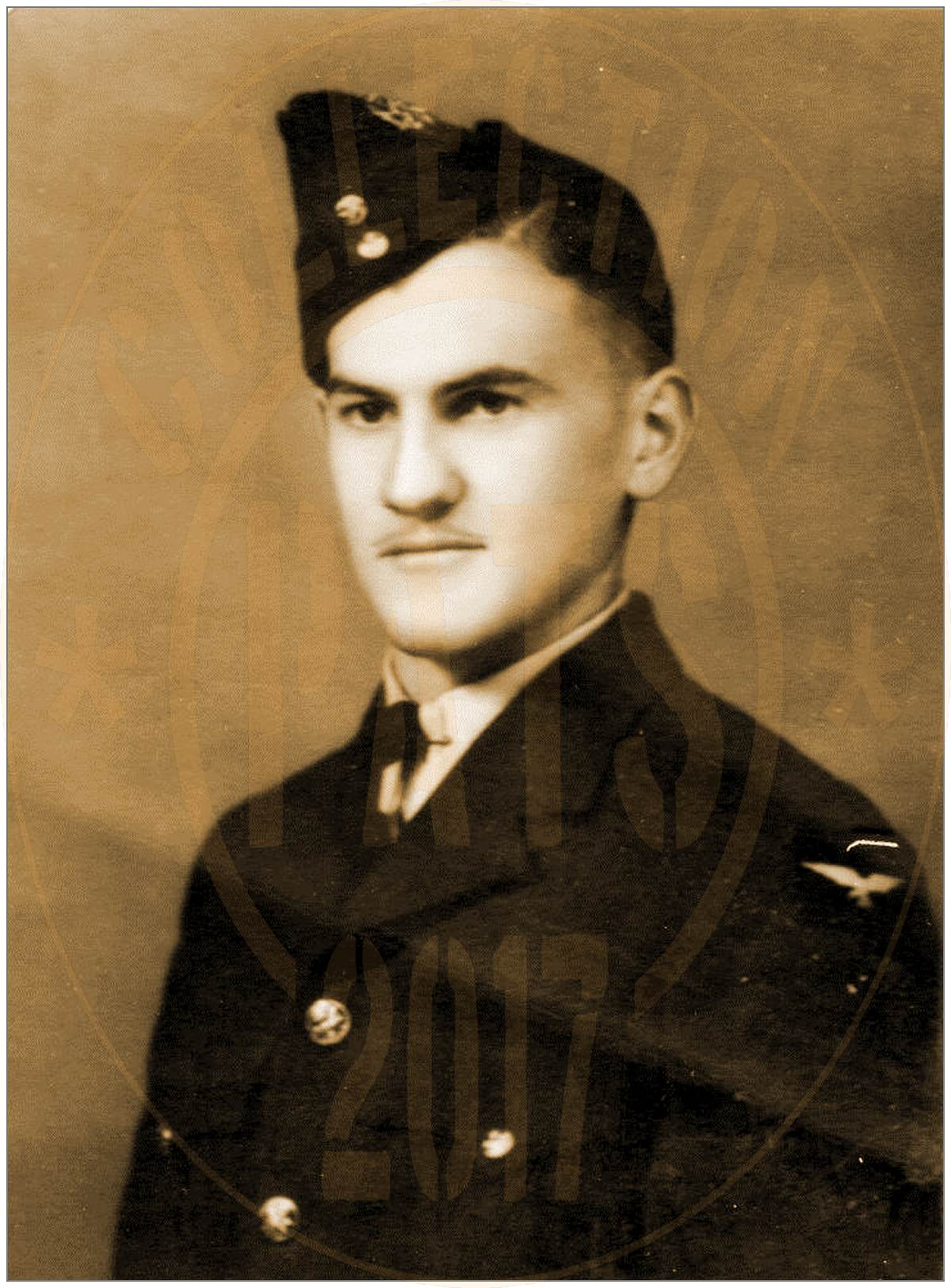 F/Sgt. Stanley Finace Mattoon - RCAF - portrait