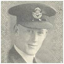 43643 - P/O. - Co-Pilot - Theo Faire Storrier Johnson - RAF - Age ~21 - POW