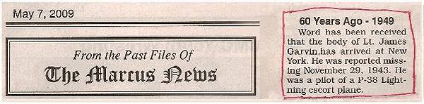 The Marcus News - 60 years ago - 7 May 2009