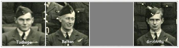 detail 144th Squadron photo - Tudhope, Belton and Griffihs
