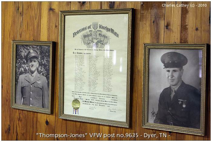 'Thompson-Jones' VFW post No.9635, Dyer, TN