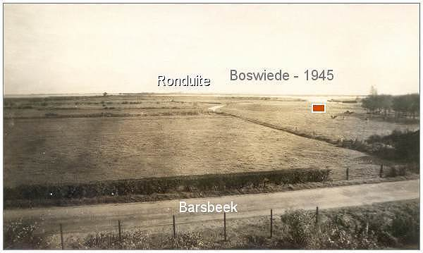 view Boswiede/'t-Veentje towards Ronduite - 1945